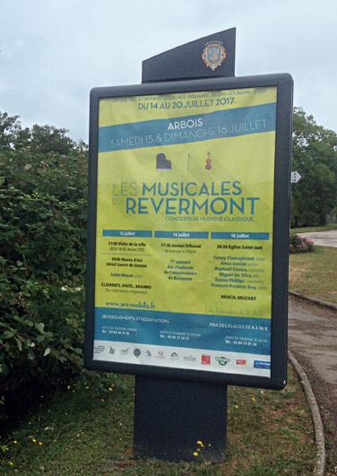 Musicales du Revermont - Catalogue - Affichage MUPI