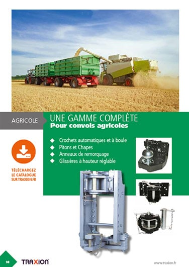 Traxion Catalogue - gamme agricole