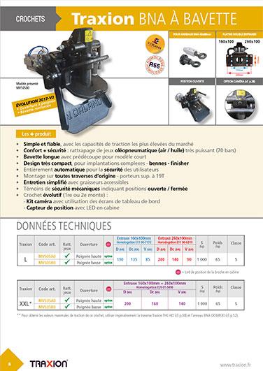 Catalogue Traxion - page produits