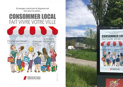OCCJ - Affiche pour panneaux affichage de ville