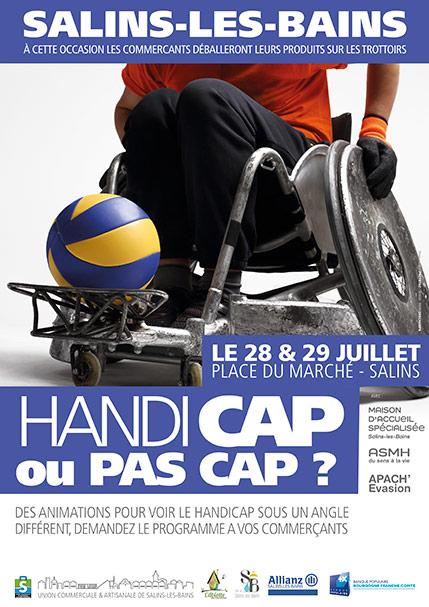 2018 - Handicap ou pas cap - Affiche