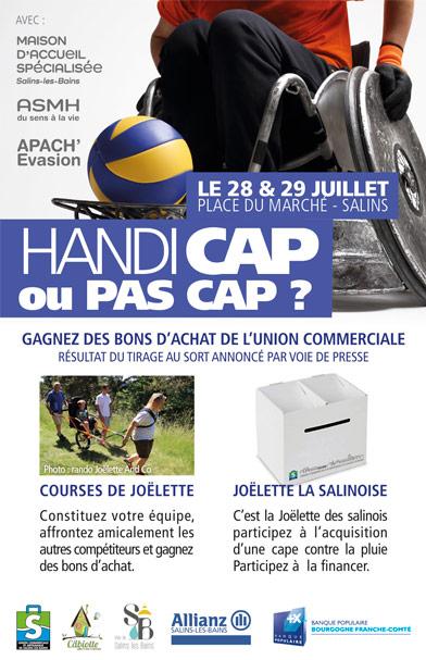 2018 - Handicap ou pas cap - Flyer
