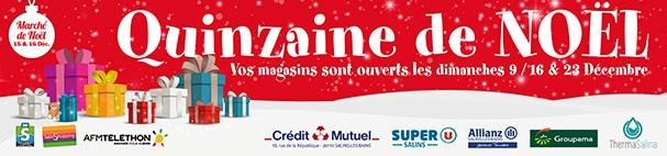 2018 - Quinzaine de Noël - Bâches