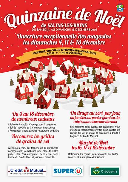 2016 - Quinzaine de Noël - Affiche