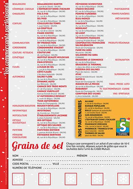 2016 - Quinzaine de Noël - Flyer