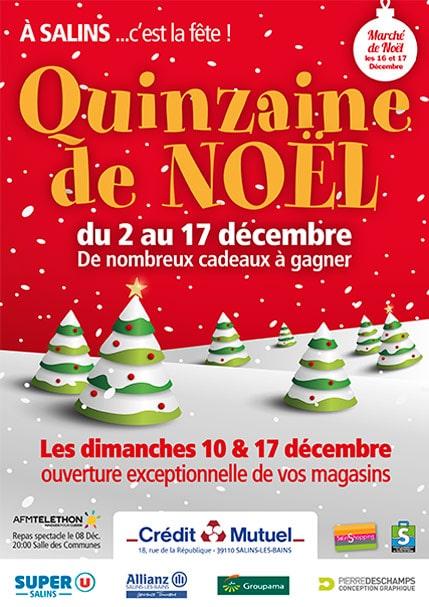2017 - Quinzaine de Noël - Affiche