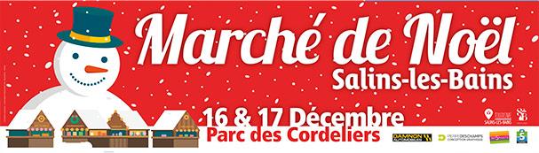 2017 - Quinzaine de Noël - Affiches et bâche du Marché de Noël