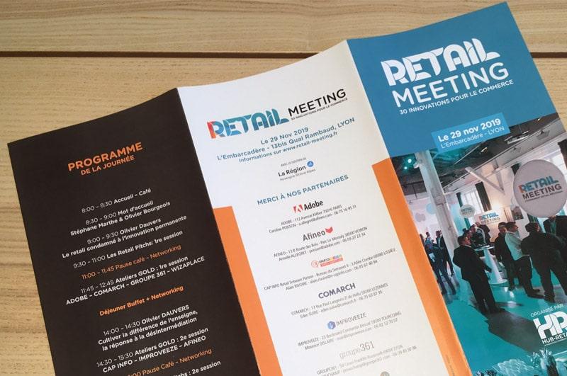 Retail-Meeting 2019 - Programme recto