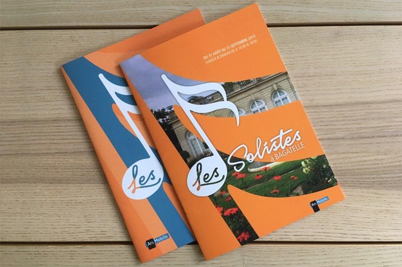 Soliste à Bagatelle - Catalogues 2019 et 2019